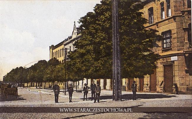 Ulica Kościuszki w Częstochowie, M. R. Baumert
