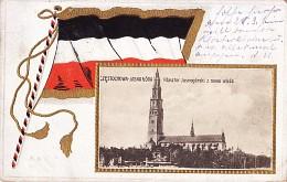 Klasztor Jasnogórski z nową wieżą