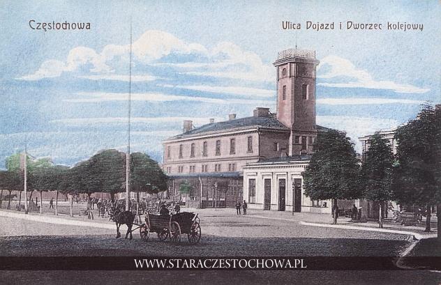 Dworzec Kolei Żelaznej Warszawsko-Wiedeńskiej w Częstochowie