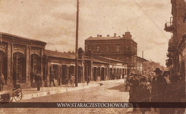 Ulica Krakowska w Częstochowie, M. R. Baumert