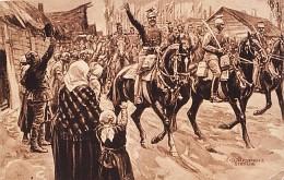 Ułani wkraczają do Częstochowy