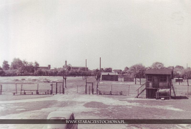 Dzielnica Stradom w Częstochowie w latach pięćdziesiątych
