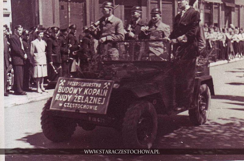Pojazd Przedsiębiorstwa Budowy Kopalń Rudy Żelaznej w Częstochowie