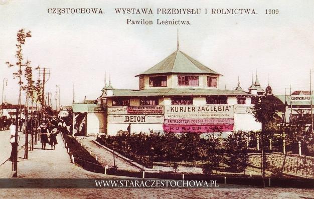 Wystawa Przemysłu i Rolnictwa 1909 w Częstochowie, Pawilon Leśnictwa