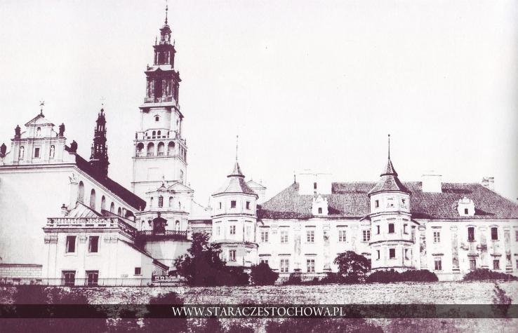 Klasztor Jasnogórski, rok 1860