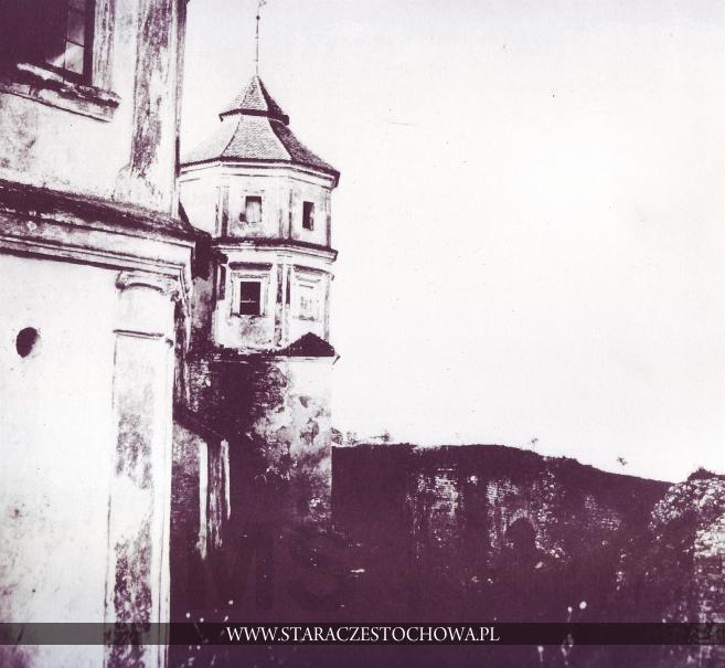 Mury i baszty Klasztoru Jasnogórskiego, rok 1860