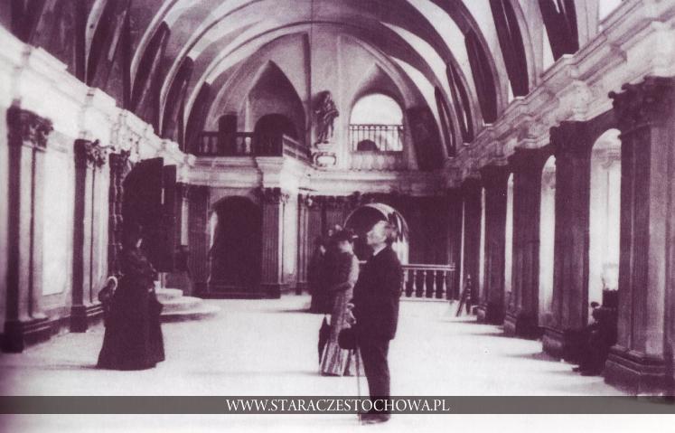 Klasztor Jasnogórski, Sala Rycerska, ok. 1900 roku