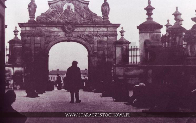Bramy Klasztoru Jasnogórskiego, ok. 1900 roku