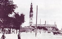 Widok na klasztor Jasnogórski