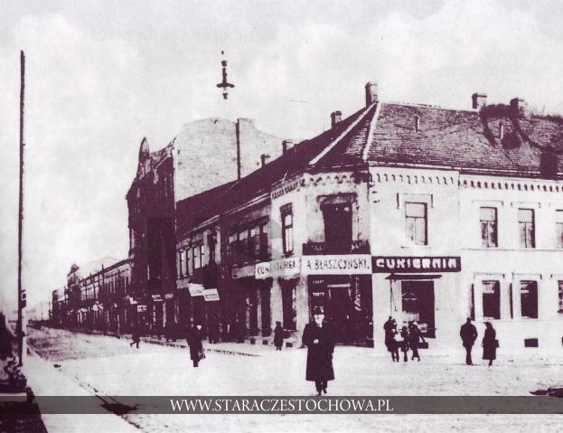 Stara Częstochowa, I Aleja NMP, ok. 1900 roku