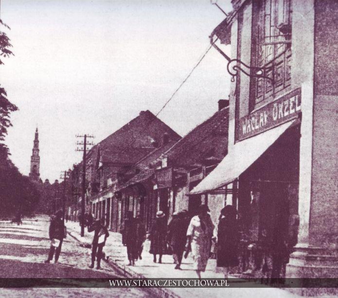 Stara Częstochowa, II Aleja NMP, lata 20-te