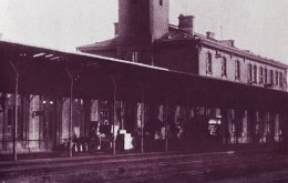 Peron dworca kolejowego