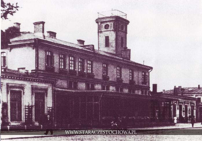 Historia Częstochowy, Budynek dworca kolejowego, lata 20-te