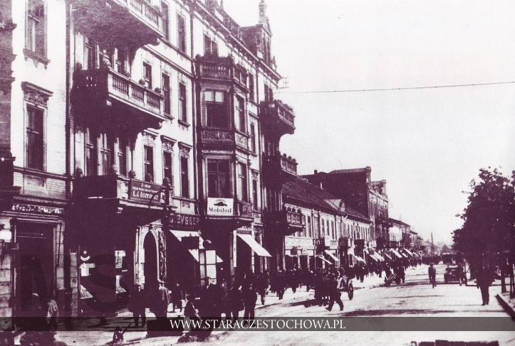 Stara Częstochowa, I Aleja NMP, lata 30-te
