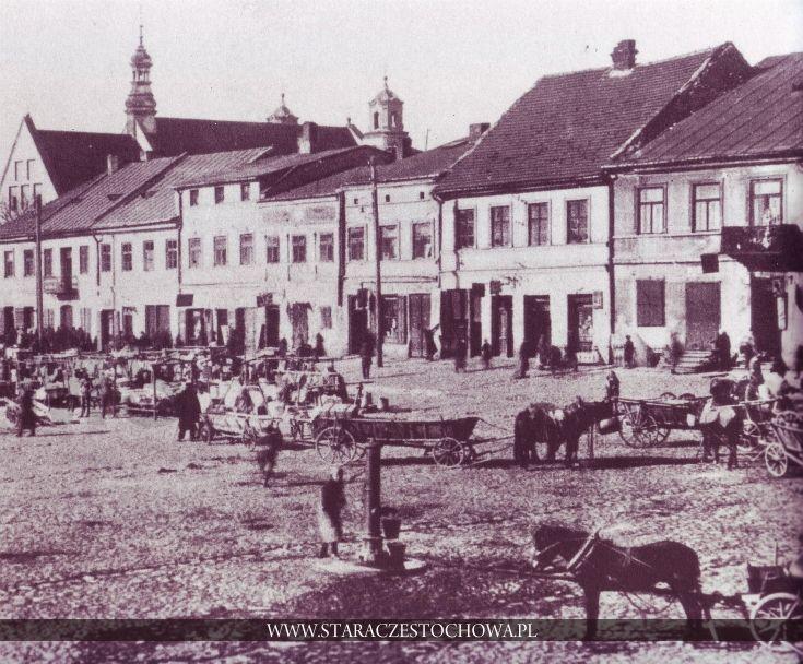 Częstochowa dawniej, Stary Rynek, lata 20-te