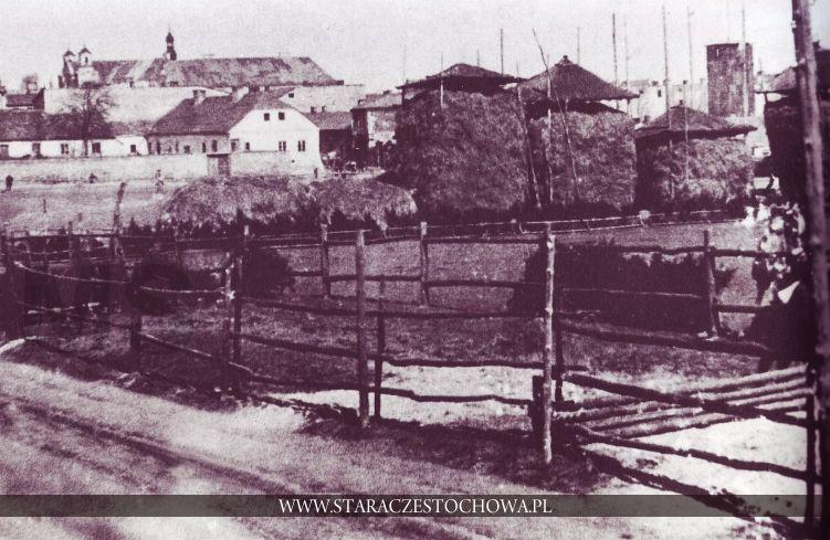 Przedmieścia Starej Częstochowy, ok. 1910 roku