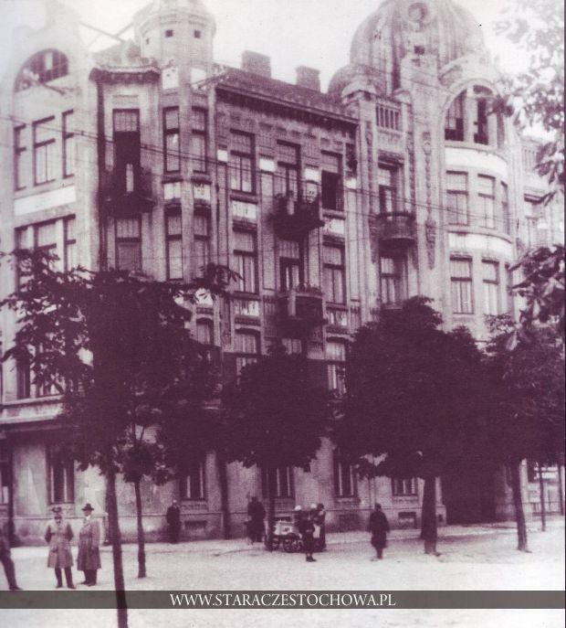 Stara Częstochowa, Ulica Wolności - Dom Księcia, lata 30-te
