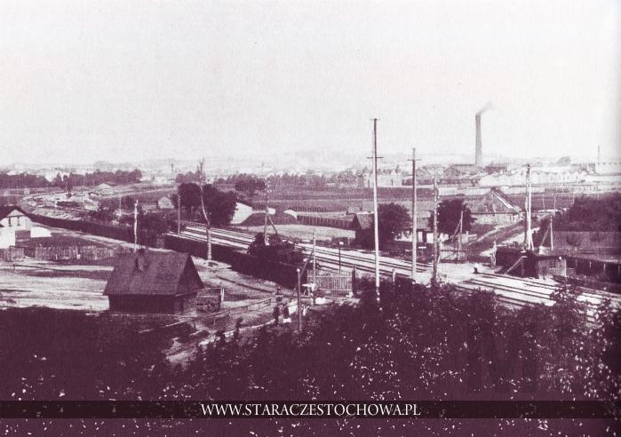 Historia Częstochowy, Fabryki włókiennicze, ok. 1910 roku