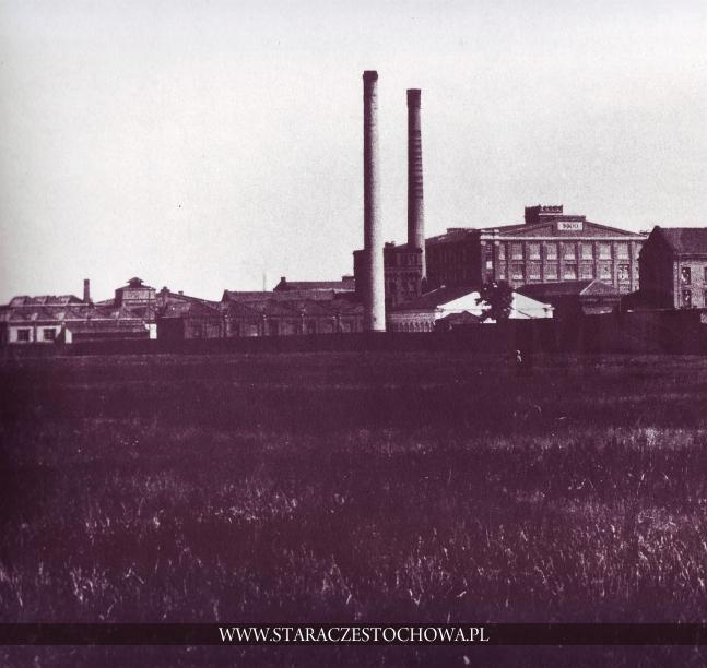 S.A. Przemysłu Włókienniczego La. Czenstochovienne, ok. 1910 r.