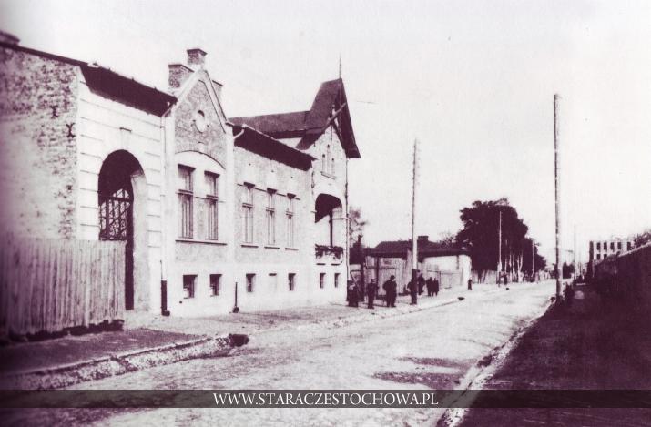 Stara Częstochowa, Ulica Przyfabryczna, ok. 1910 roku