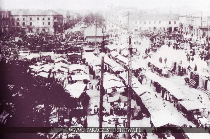 Nowy Rynek w Częstochowie, lata 20-te