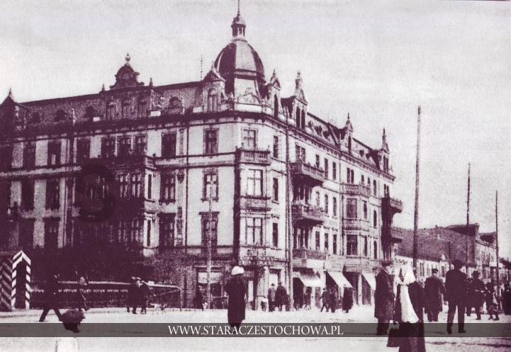 Częstochowa dawniej, W Alejach, 1916 rok