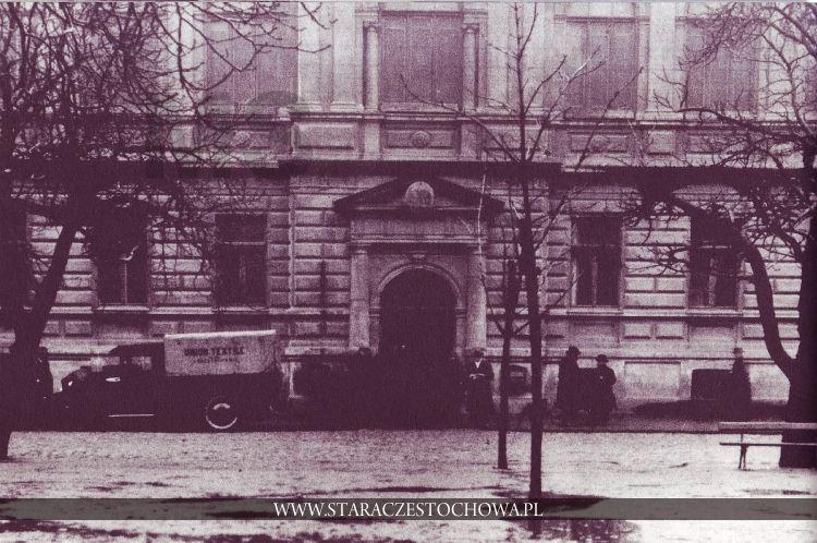 Stara Częstochowa, Przed bankiem, lata 30-te