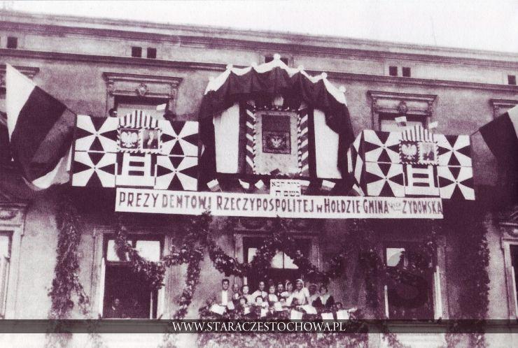 Częstochowa dawniej, Święto, lata 30-te