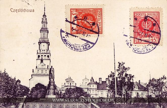 Klasztor Jasnogórski i Pomnik Aleksandra II w Częstochowie