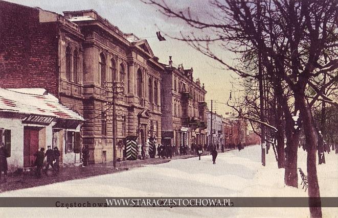 II Aleja, Bank Państwa w Częstochowie, Tschenstochau