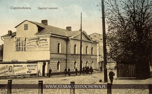 Budynek Szpitala Miejskiego NMP w Częstochowie