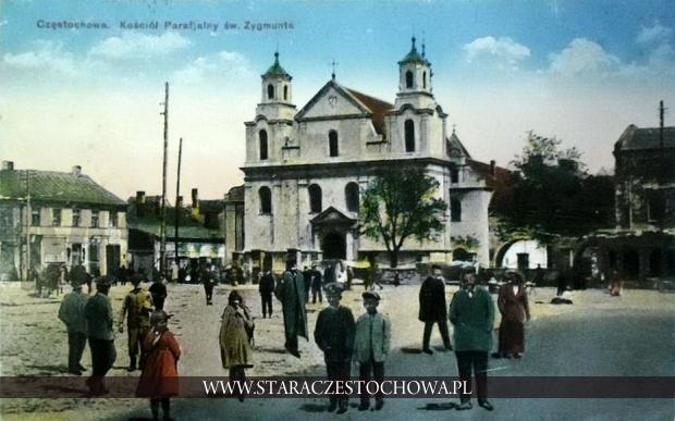 Częstochowski kościół parafialny św. Zygmunta