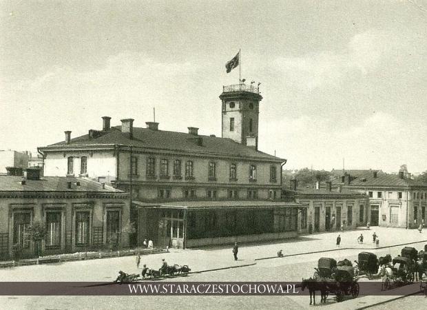 Dworzec drogi żelaznej Warszawa - Wiedeń