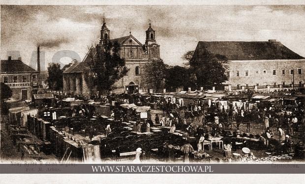 Nowy Rynek (plac Daszyńskiego) w Częstochowie