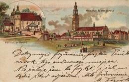 Litografia z Częstochowy