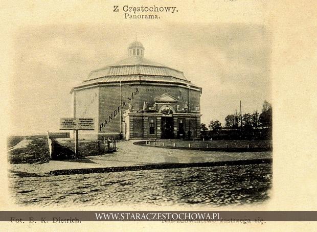 Rotunda Panoramy Golgoty na skrzyżowaniu ul. Pułaskiego z al. NMP