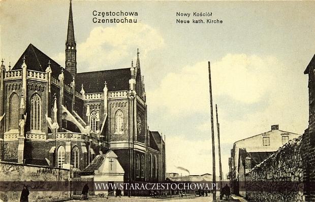 Ulica Krakowska z widokiem na katedrę