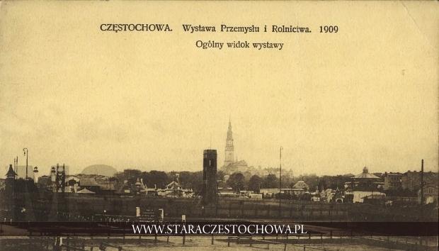 Wystawa Przemysłu i Rolnictwa 1909, widok ogólny