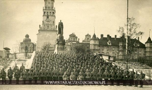 Żołnierze 154 pułku piechoty ze Strzegomia