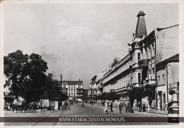Ulica Świerczewskiego w Częstochowie