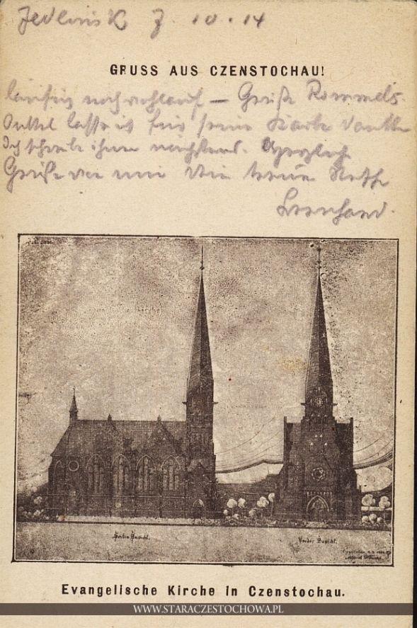 Kościół Ewangelicko-Augsburski, Czenstochau