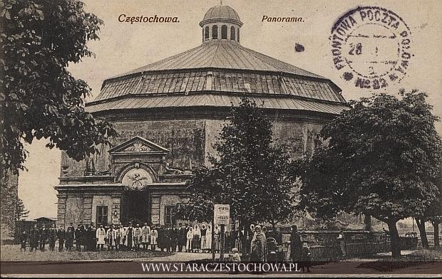 Golgota, panorama w Częstochowie