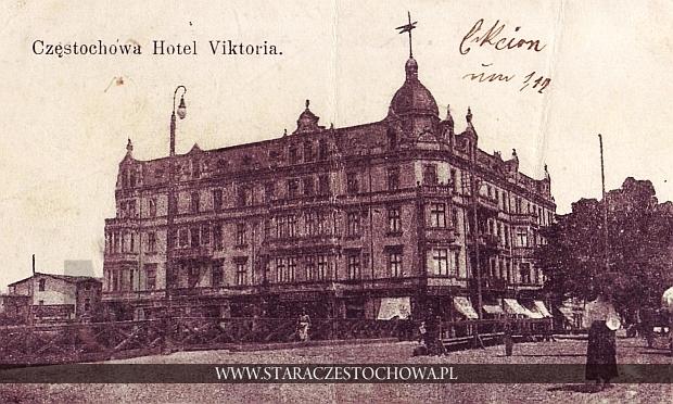 Hotel Viktoria, dom Frankego w Częstochowie