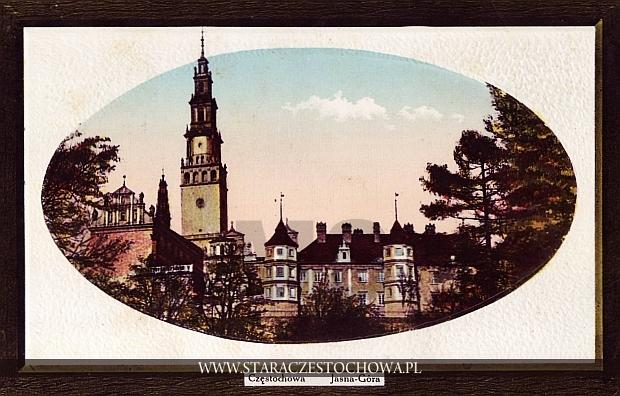 Jasna Góra, Częstochowa litografia