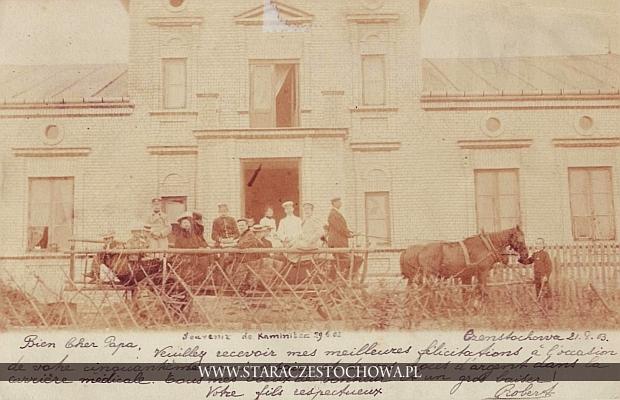 Kamienica Polska, z obiegu Częstochowa, 1903 r., długi adres