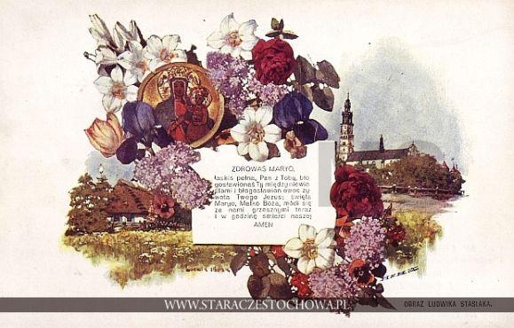 Obraz Ludwika Stasiaka, Jasna Góra