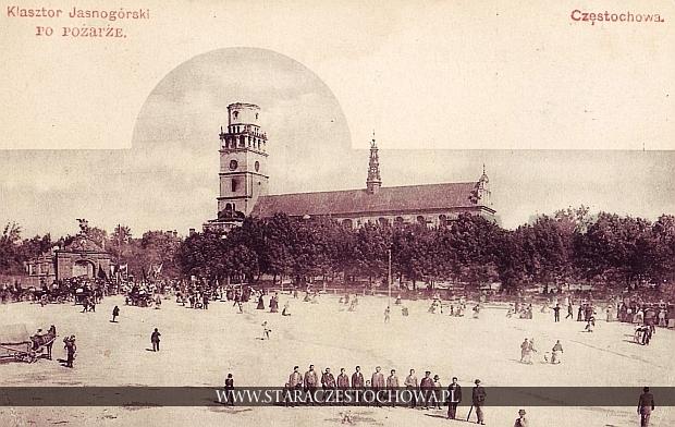 Klasztor Jasnogórski po pożarze z 1900 roku, długi adres