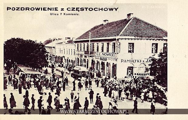 Ulica 7 Kamienic, pozdrowienie z Częstochowy