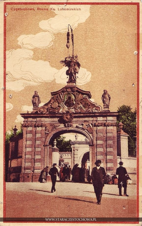Brama Lubomirskich, Jasna Góra