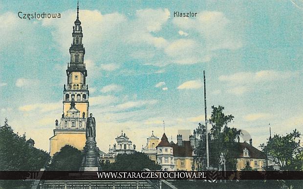 Klasztor na Jasnej Górze, pomnik cara Aleksandra II